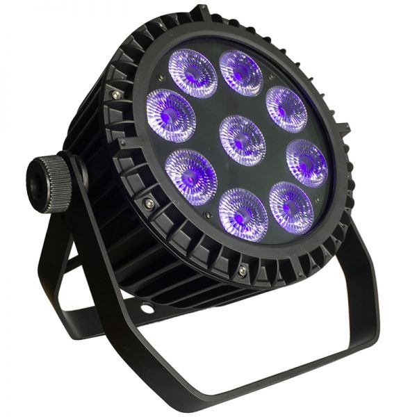 9*6in1 Waterproof Par Light (Flat Mini)