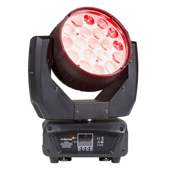 19x12w led moving head wash zoom