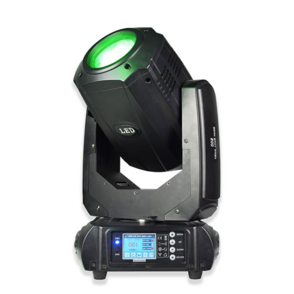 LED 200W beam spot wash 3in1 moving head light
